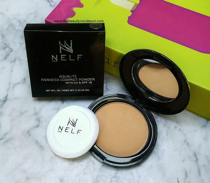 NELF Aqualite Fairness Compact Powder with UV & SPF 18