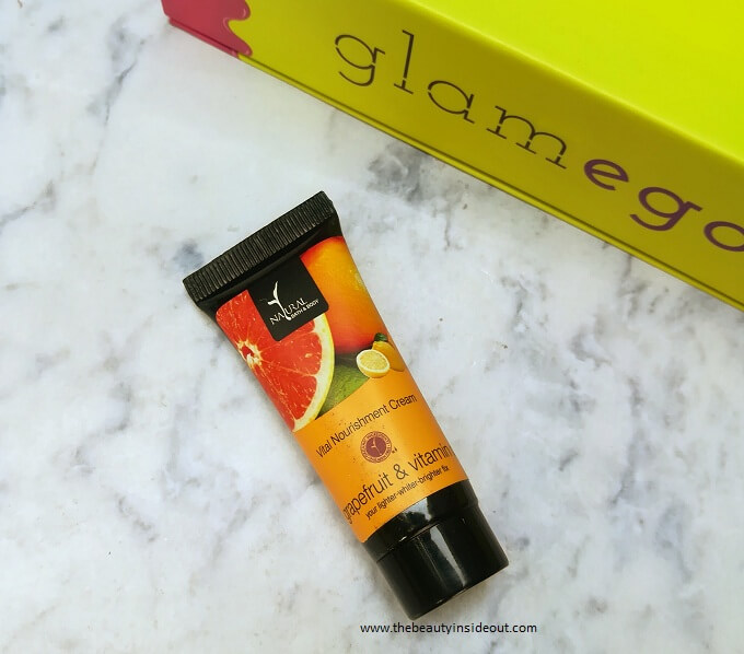Natural Bath & Body Vital Nourishment Cream with Grapefruit & Vitamin C