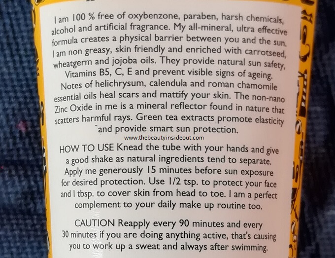 Aroma Magic Sunblock Lotion Product Description & Claims