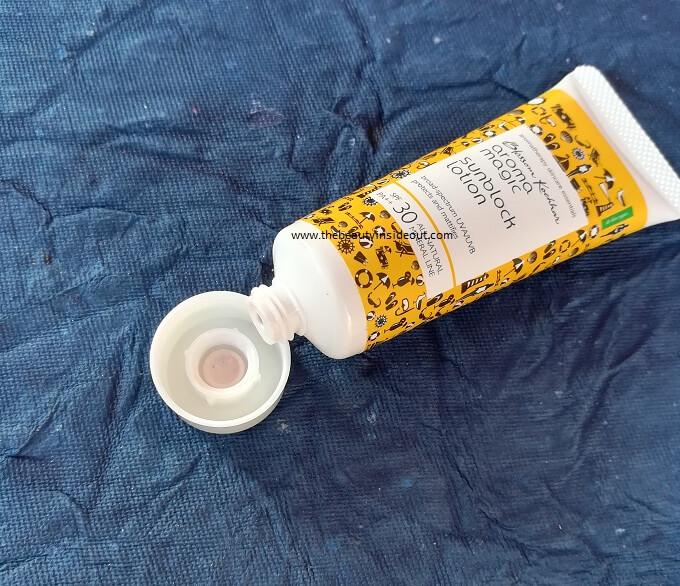Aroma Magic Sunblock Lotion