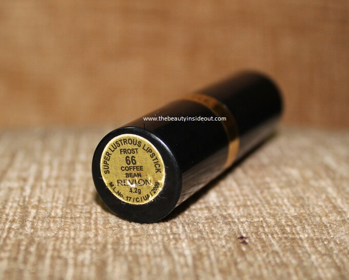 Revlon Super Lustrous Lipstick Coffee Bean