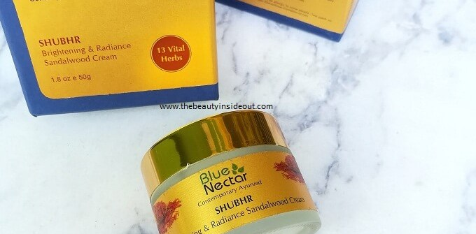Blue Nectar Brightening & Radiance Sandalwood Cream