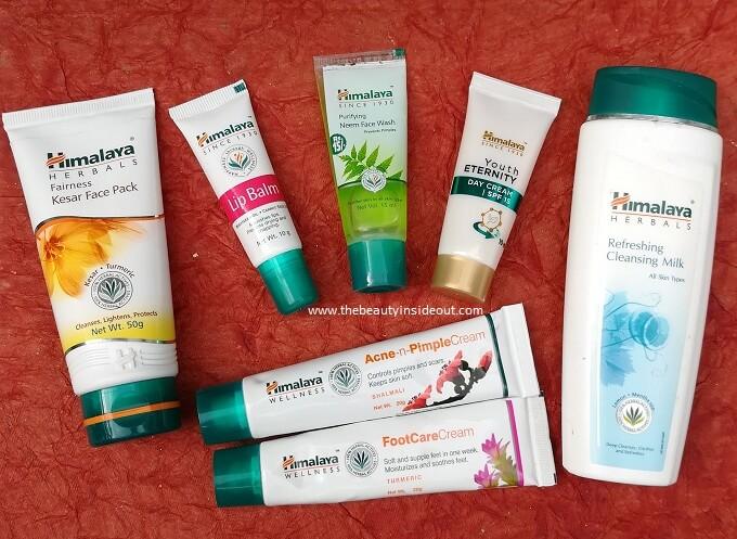 Himalaya Products Review