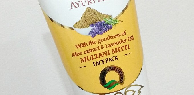 VLCC Ayurveda Multani Mitti Face Pack Review