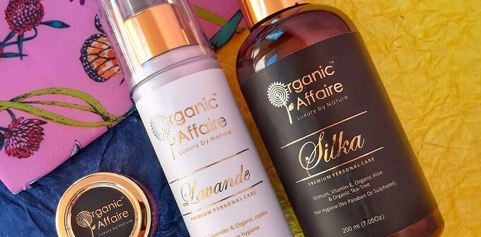 Organic Affaire Products Review