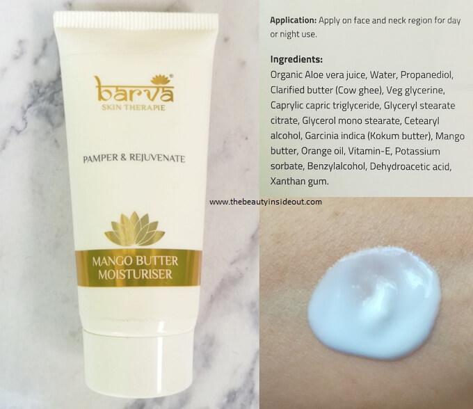 Barva Skin Therapie Mango Butter Moisturizer