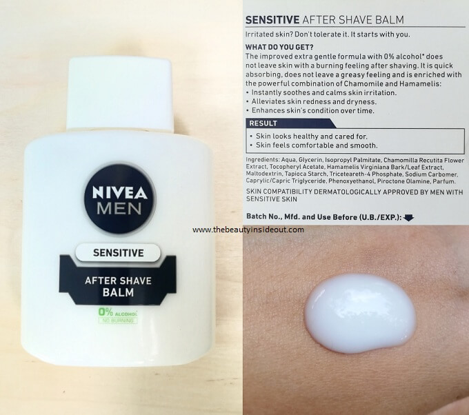 Nivea Men After Shave Balm