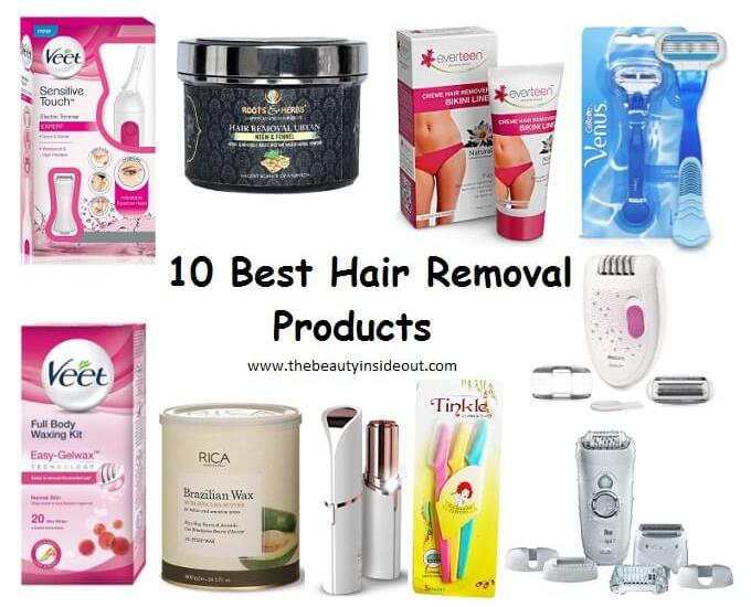 Best Hair Removal Products