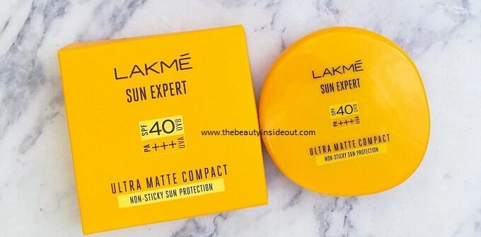 Lakme Sun Expert Ultra Matte Compact