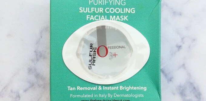 O3 Sulfur Cooling Mask Review