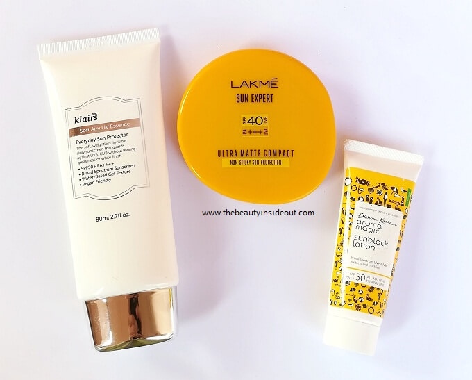 Sunscreen for Oily Acne Prone Skin