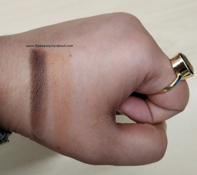 LA Girl Pro Contour Powder Swatches