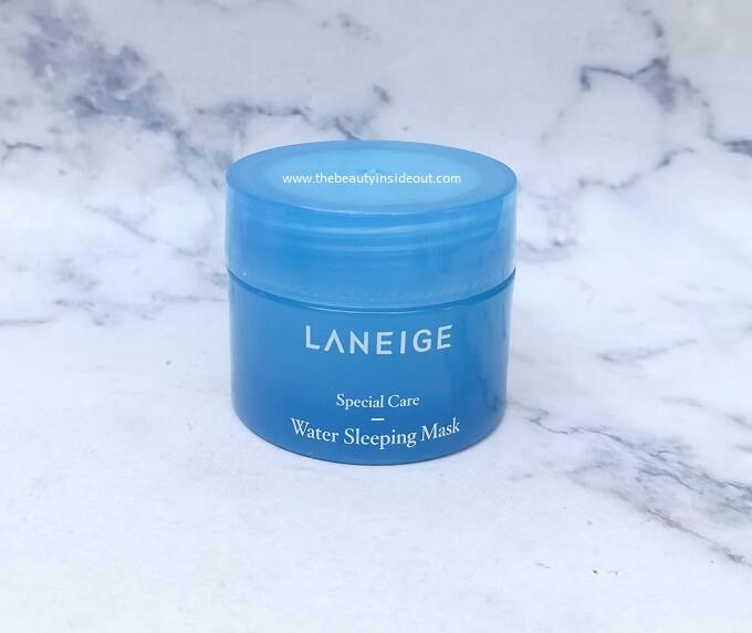 Laneige Water Sleeping Mask Packaging