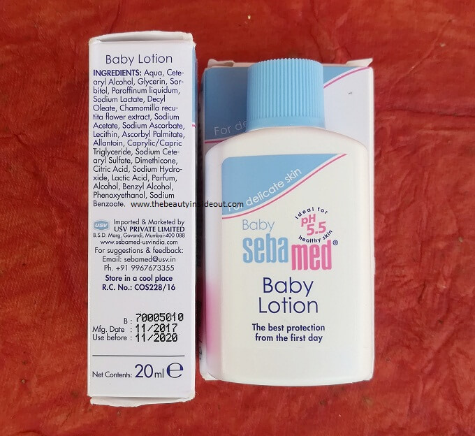 Sebamed Baby Lotion