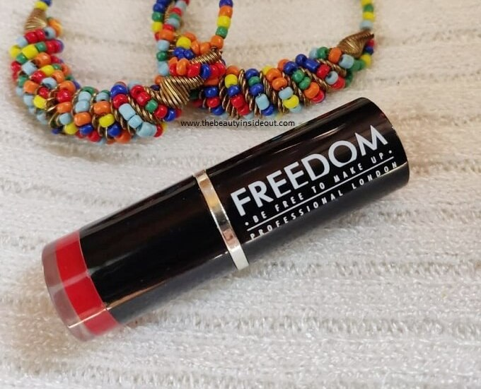 Freedom Makeup London Pro Lipstick Review