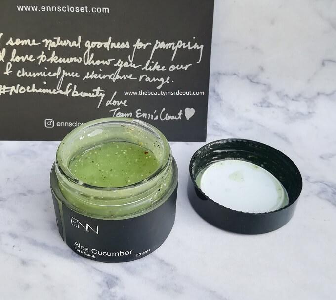 Enns Closet Aloe Cucumber Face Scrub