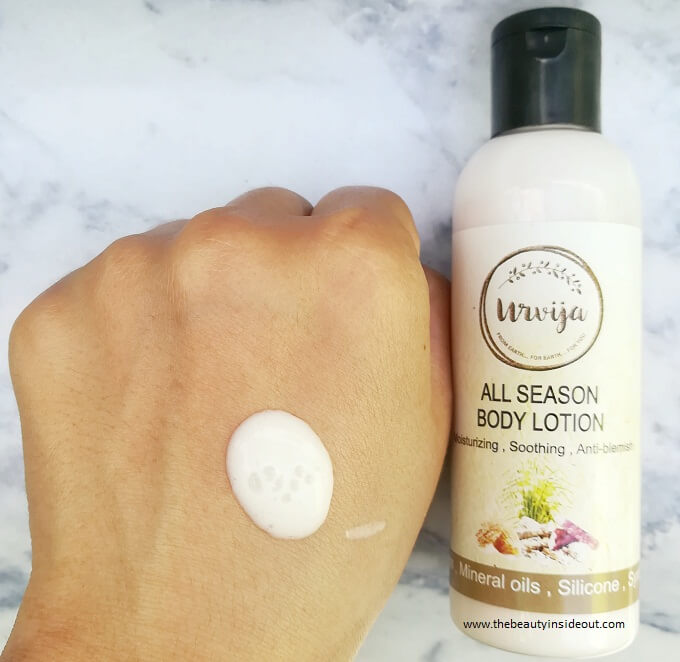 Urvija All Season Body Lotion