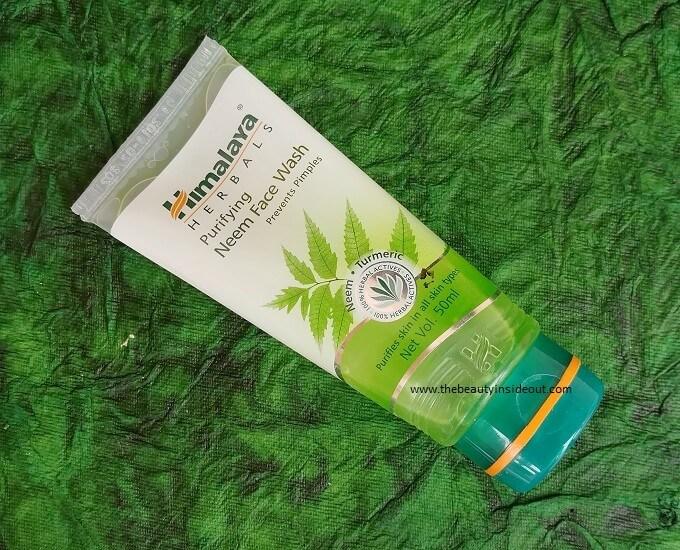 Himalaya Neem Face Wash Review