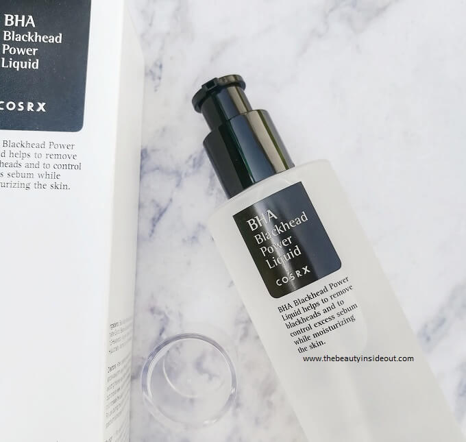 Cosrx BHA Blackhead Power Liquid Pump