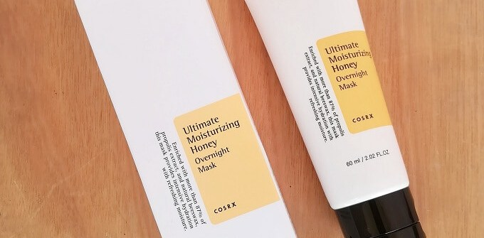 Cosrx Ultimate Moisturizing Honey Overnight Mask Review
