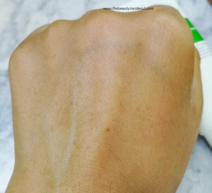 Purito Centella Sunscreen No white cast
