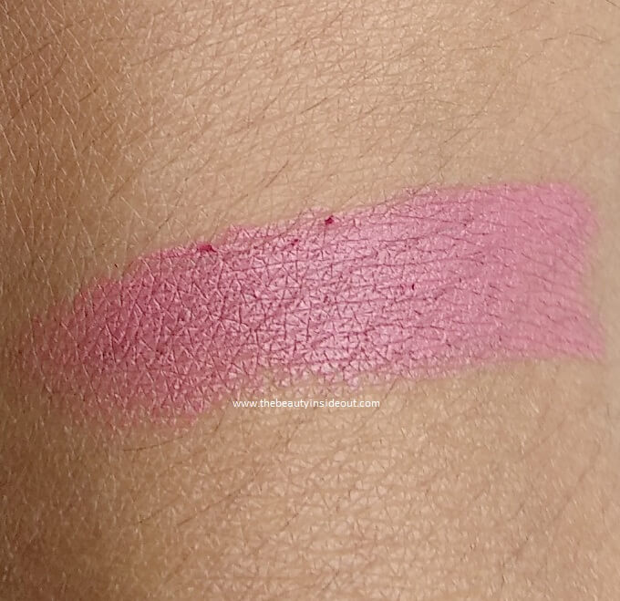 Wet n Wild Megalast Lipstick In The Flesh Swatches