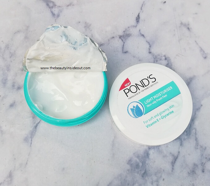 Ponds Light Moisturizer tub