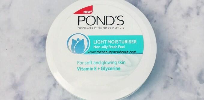Ponds Light Moisturizer Review