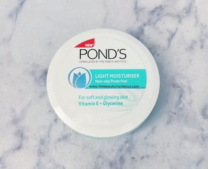 Ponds Light Moisturizer Review