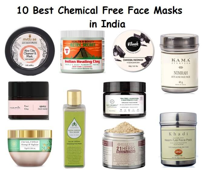 10 Best Natural Chemical Free Face Masks In India 2020