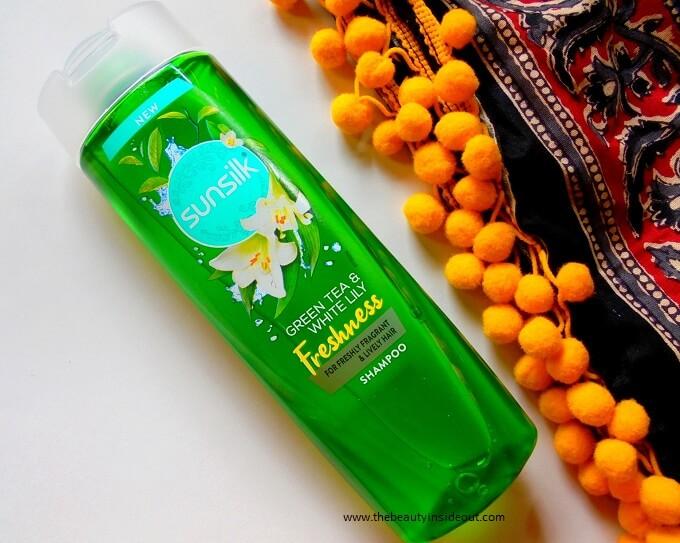 Sunsilk Green Tea And White Lily Freshness Shampoo Review