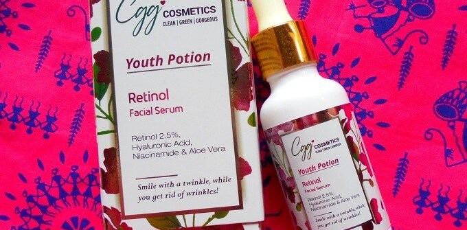 CGG Cosmetics Retinol Serum Review