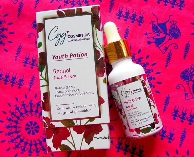 CGG Cosmetics Retinol Serum Review