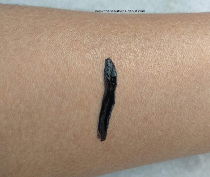 Lakme 9 to 5 Eyeliner Swatch