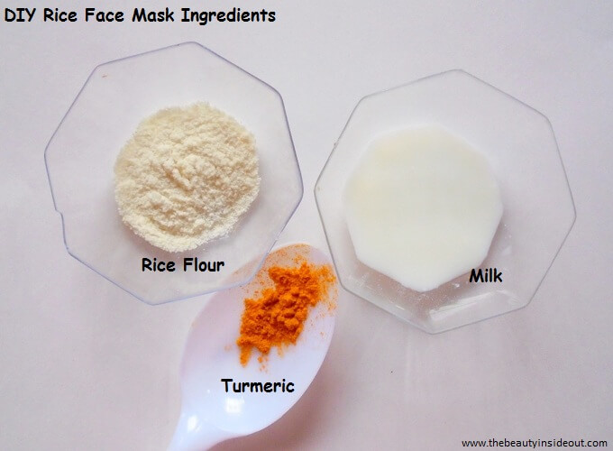DIY Rice Face Mask 2