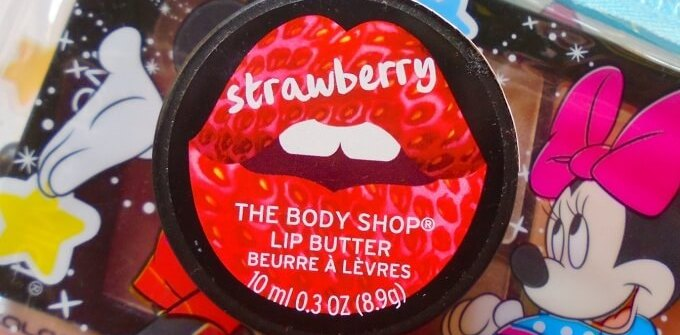 The Body Shop Strawberry Lip Butter Review