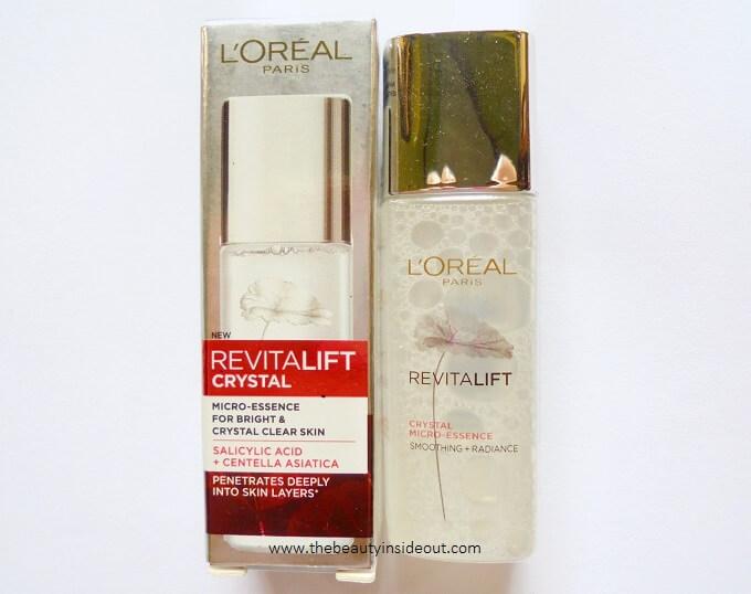 L'Oreal Paris Revitalift Crystal Micro Essence Review