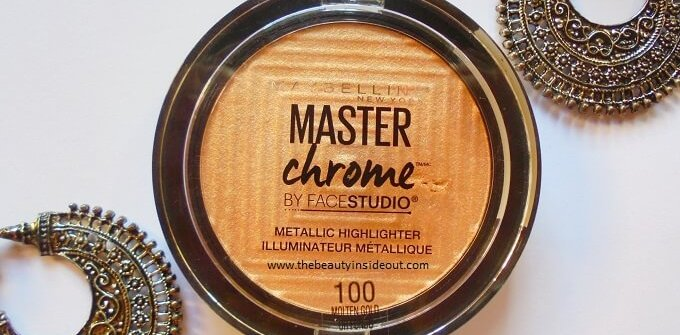 Maybelline Master Chrome Metallic Highlighter Molten Gold