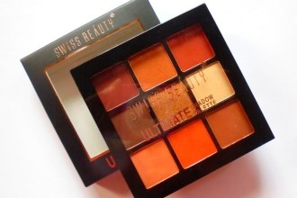 Swiss Beauty Ultimate Shadow Palette 04 Review