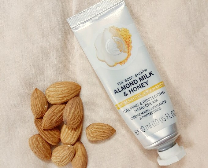 The Body Shop Almond Milk And Honey Hand Cream Review