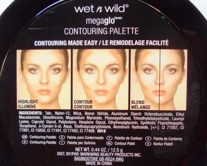 Wet n Wild Megaglo Contouring Palette Dulce De Leche Ingredients