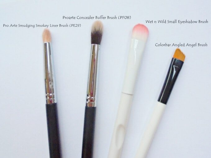 Makeup Brushes For Eyes - Beginners