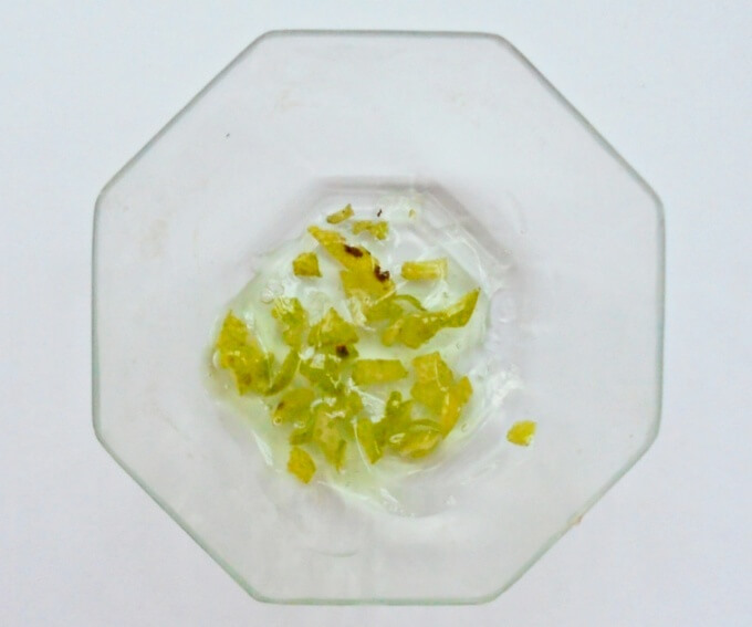 DIY For Maskne - Lemon Peel & Aloe Gel