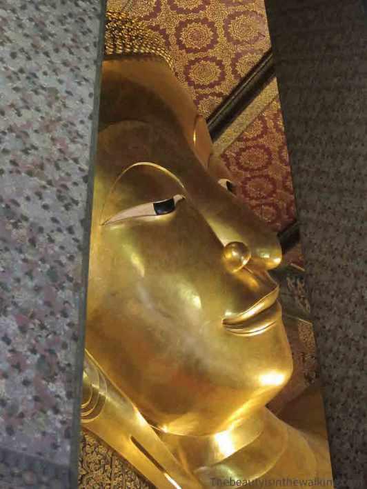 Bouddha alongé, Wat Pho, Bangkok