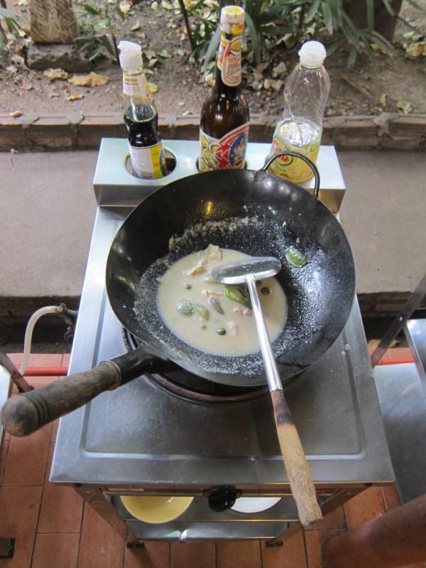Curry vert, cuisine thaïe