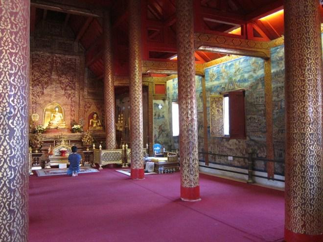 Wat Phra Singh (le temple du bouddha Lion)