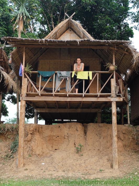 Notre bungalow à Tad Lo, Laos