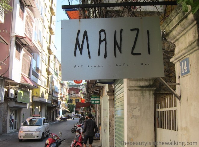 Manzi art space, Hanoi