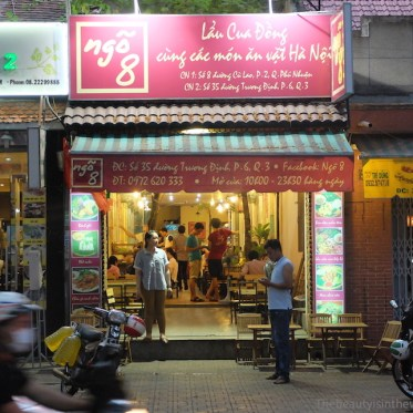 Ngo 8 Restaurant in Ho Chi Minh City