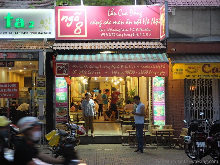 Ngo 8 Restaurant in Ho Chi Minh City